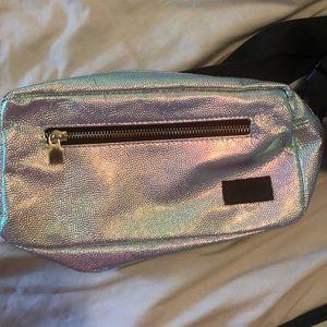 Iridescent fanny pack